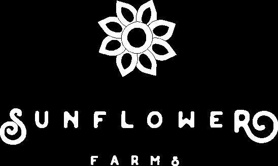 Sunflower Farms logo white