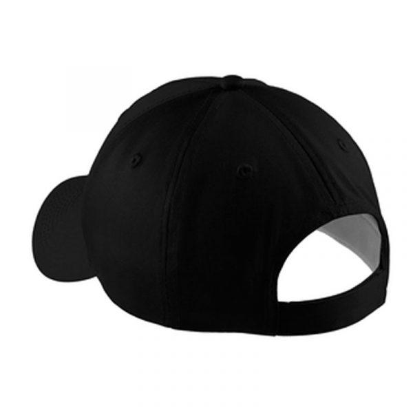 Sunflower Farms Logo Hat back- Black