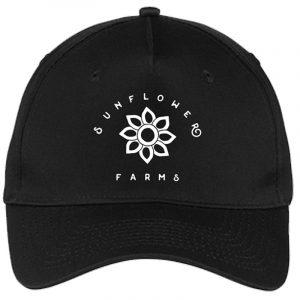 Sunflower Farms Logo Hat - Black
