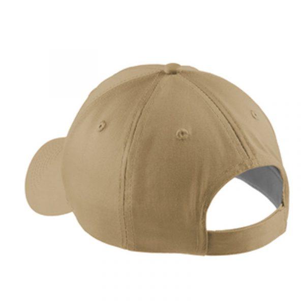 Sunflower Farms Logo Hat back - Khaki